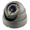 Dome analogica 480TVL 2.8-12mm 36LED IR