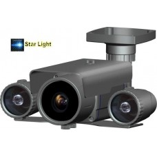Telecamera analogica 700TVL 9-22mm 2LED IR Matrix