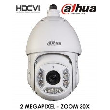 Dahua SD6C230I-HC-S2 - Speed dome HDCVI 2Mp zoom 30X con LED IR StarLight