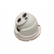 Dome ibrida (HDCVI-TVI-AHD-CVBS) 2MP 3.6mm